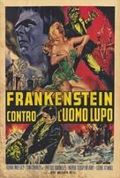 Frankenstein Meets the Wolf Man - Italian Movie Poster (xs thumbnail)