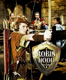 The Adventures of Robin Hood - Hungarian Movie Poster (xs thumbnail)