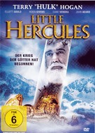 Little Hercules in 3-D - German DVD cover (xs thumbnail)