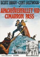 Ambush at Cimarron Pass - Swedish Re-release movie poster (xs thumbnail)