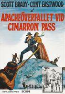 Ambush at Cimarron Pass - Swedish Re-release poster (xs thumbnail)