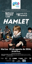 National Theatre Live: Hamlet - Mexican Movie Poster (xs thumbnail)