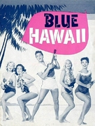 Blue Hawaii - Danish Movie Poster (xs thumbnail)