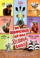 Racing Stripes - German Movie Poster (xs thumbnail)