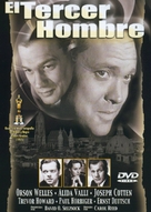 The Third Man - Spanish DVD cover (xs thumbnail)