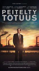 Dark Waters - Finnish Movie Poster (xs thumbnail)