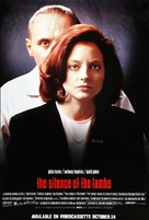 The Silence Of The Lambs - Video release movie poster (xs thumbnail)