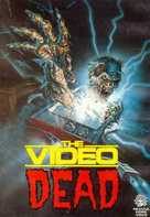 The Video Dead - Italian VHS movie cover (xs thumbnail)