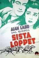 Salty O'Rourke - Swedish Movie Poster (xs thumbnail)