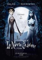 Corpse Bride - Spanish Movie Poster (xs thumbnail)