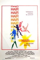 Hair - Belgian Theatrical poster (xs thumbnail)