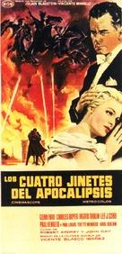 The Four Horsemen of the Apocalypse - Spanish Movie Poster (xs thumbnail)