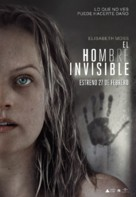 The Invisible Man - Peruvian Movie Poster (xs thumbnail)