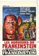 The Horror of Frankenstein - Belgian Movie Poster (xs thumbnail)