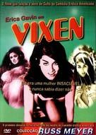 Vixen! - Portuguese DVD cover (xs thumbnail)