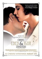 Coco Chanel & Igor Stravinsky - British Movie Poster (xs thumbnail)