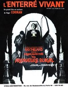 Premature Burial - French Movie Poster (xs thumbnail)