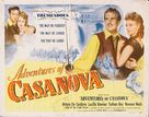 Adventures of Casanova - Movie Poster (xs thumbnail)