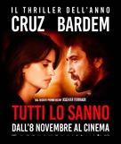 Todos lo saben - Italian Movie Poster (xs thumbnail)