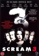 Scream 3 - DVD movie cover (xs thumbnail)