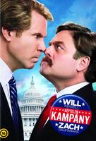 The Campaign - Hungarian DVD movie cover (xs thumbnail)