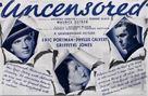 Uncensored - British Movie Poster (xs thumbnail)