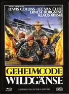 Geheimcode: Wildgänse - Austrian Blu-Ray cover (xs thumbnail)