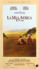 Out of Africa - Italian Movie Poster (xs thumbnail)