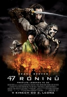 47 Ronin - Czech Movie Poster (xs thumbnail)