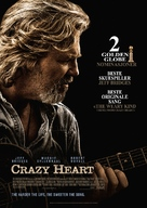 Crazy Heart - Norwegian Movie Poster (xs thumbnail)