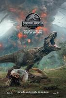 Jurassic World Fallen Kingdom - Vietnamese Movie Poster (xs thumbnail)