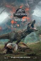Jurassic World: Fallen Kingdom - Vietnamese Movie Poster (xs thumbnail)