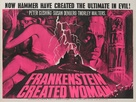 Frankenstein Created Woman - British Movie Poster (xs thumbnail)