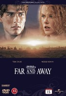 Far and Away - Danish DVD cover (xs thumbnail)