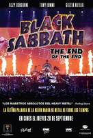 Black Sabbath the End of the End - Argentinian Movie Poster (xs thumbnail)