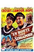 Road to Singapore - Belgian Movie Poster (xs thumbnail)