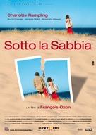Sous le sable - Italian Movie Poster (xs thumbnail)