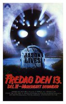 Jason Lives: Friday the 13th Part VI - Danish Movie Cover (xs thumbnail)