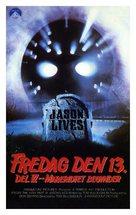 Jason Lives: Friday the 13th Part VI - Danish Movie Cover (xs thumbnail)