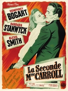 The Two Mrs. Carrolls - French Movie Poster (xs thumbnail)