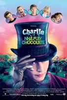 Charlie and the Chocolate Factory - Vietnamese Movie Poster (xs thumbnail)