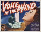 A Voice in the Wind - Movie Poster (xs thumbnail)