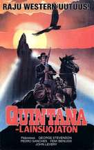 Quintana - Finnish VHS movie cover (xs thumbnail)