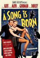 A Song Is Born - DVD cover (xs thumbnail)