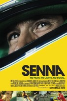 Senna - British Movie Poster (xs thumbnail)