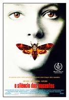 The Silence Of The Lambs - Brazilian Movie Poster (xs thumbnail)