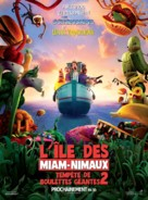 Cloudy with a Chance of Meatballs 2 - French Movie Poster (xs thumbnail)