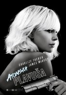 Atomic Blonde - Croatian Movie Poster (xs thumbnail)