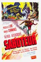 Saboteur - Re-release poster (xs thumbnail)