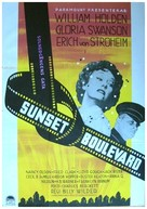 Sunset Blvd. - Swedish Movie Poster (xs thumbnail)